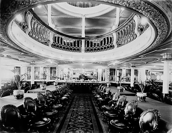 RMS Empress of Ireland First Class Dining Room